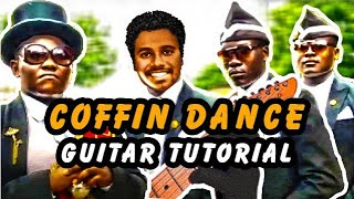 Coffin Dance (astronomia) Lead Guitar Tutorial