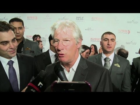 Richard Gere shines on Abu Dhabi Film Festival