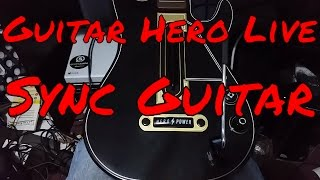 How To / How Do I Sync / Connect My Guitar Hero Live Guitar Controller on Xbox One Video