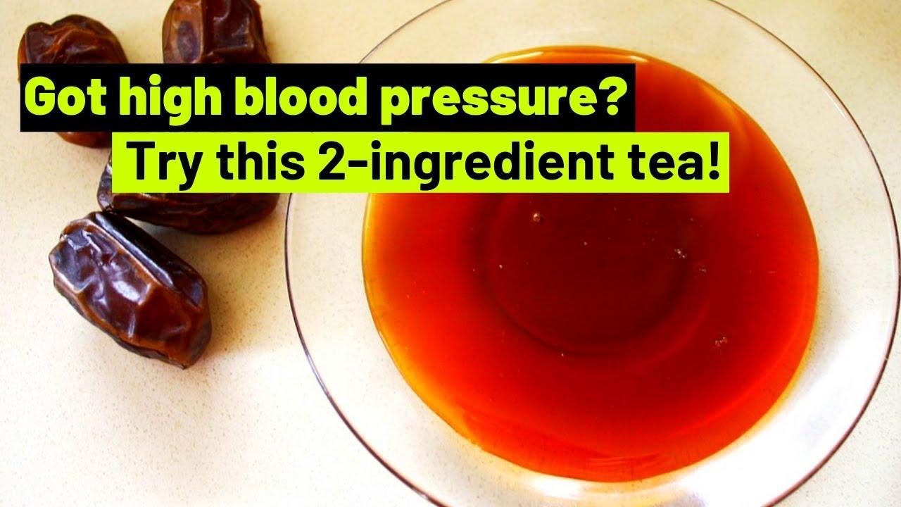 GOT HIGH BLOOD PRESSURE TRY THIS 2INGREDIENT TEA