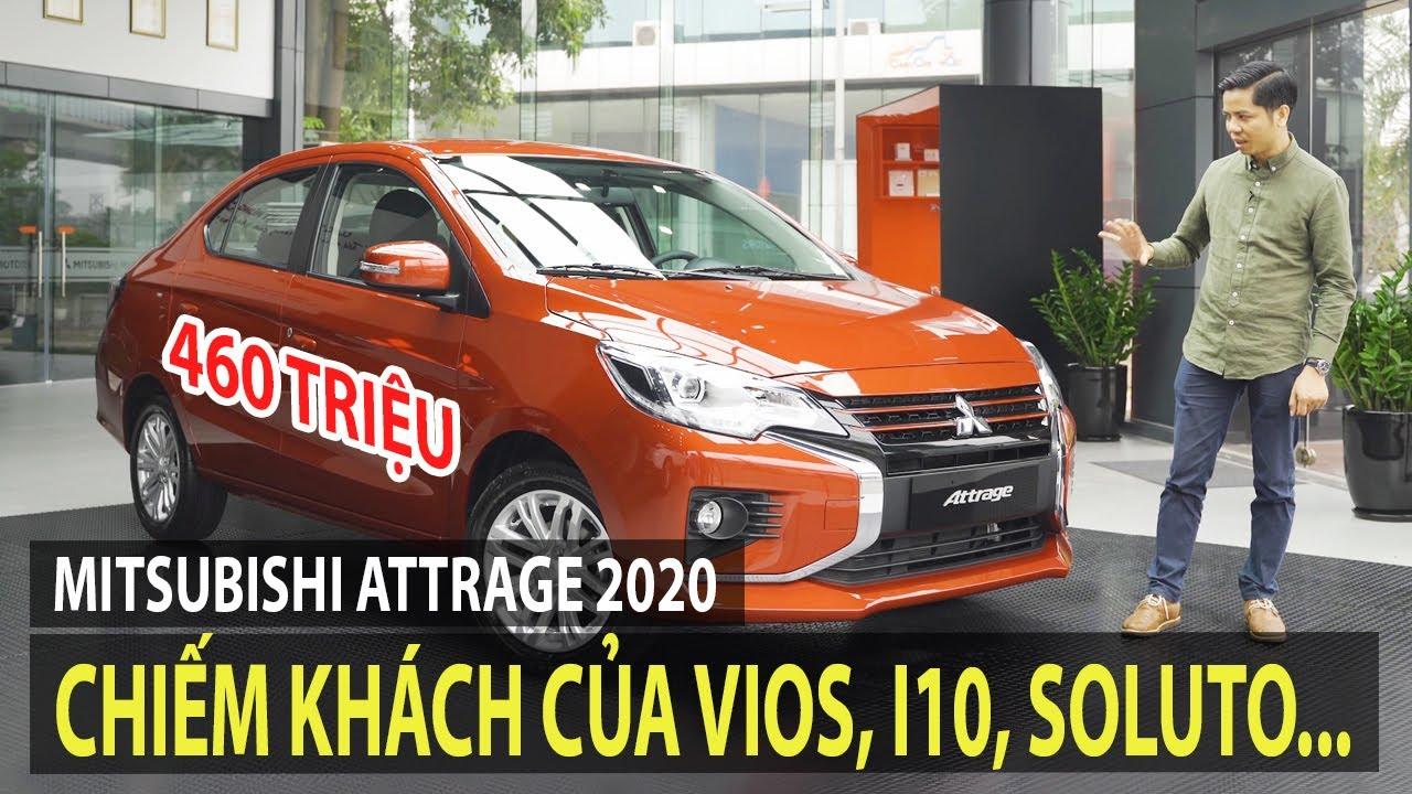 Mitsubishi Attrage 2020 giá từ 375 triệu – Sẽ chiếm khách của Vios, i10, Soluto… | TIPCAR TV