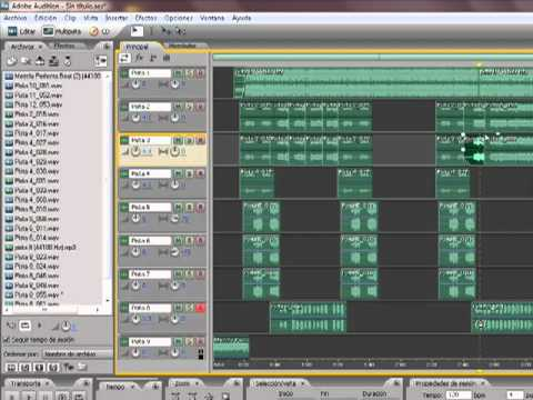 Tutorial EDITAR EN ADOBE AUDITION 3.0 voces RAP