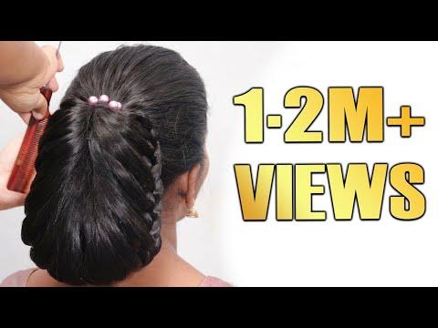 latest-bun-hairstyles-//-easy-hairstyles-//-updo-hairstyles-//-trending-hairstyles