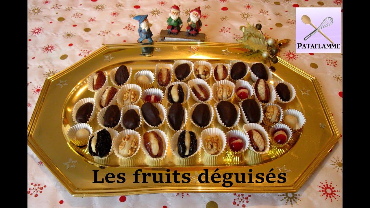 Gateau Sec Au Chocolat De Choumicha : La recette des fruits déguisés p te d amande maison et