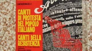 Canta di Matteotti (anonimo) canta Michele L. Straniero - Cantacronache 4
