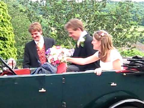 Emily and Charlie Allison's Wedding - departure