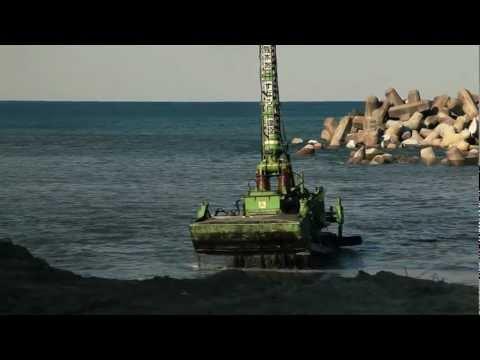 Underwater bulldozer Komatsu D155W