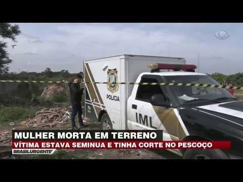 Mulher é encontrada morta e degolada em terreno no PR