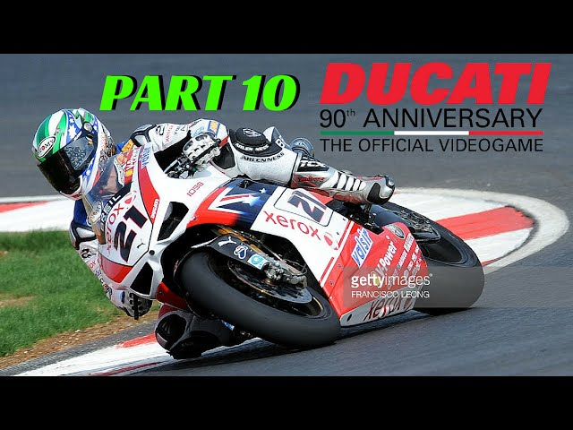 Ducati 90th Anniversary Part 10 - TROY BAYLISS 1098 F08 - Full Game - PS4 Gameplay