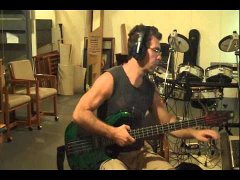 how to play slap bass triplets