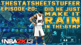 NBA 2K13 My Career - Episode 20 - Did He Just Make It Rain In The Gym? | Foot Locker 3pt Contest