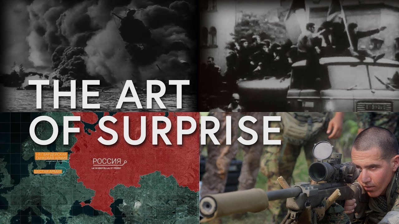 Surprise: The Art of War That Never Went Away