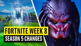 Fortnite | All Season 5 Map Updates and Hidden Secrets! WEEK 8! BigPreds