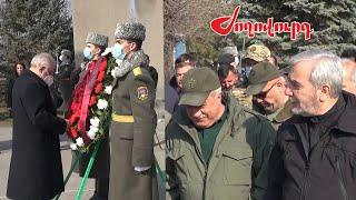 Վազգեն Սարգսյանի ծննդյան օրը Եռաբլուրում. ովքեր էին ներկա