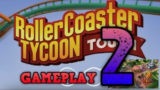 rtc touch rollercoaster tycoon gameplay tutorial 2