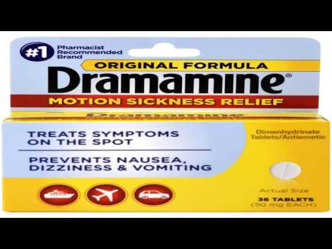 Dramamine Tablets Less Drowsy Formula 8 tablets Pack of 3