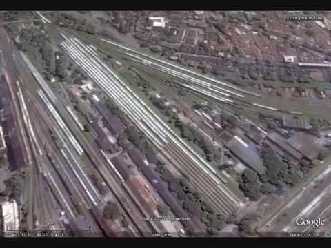 Kolkata (Calcutta) Aerial View