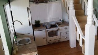 How to make a Doll House Kitchen #2
