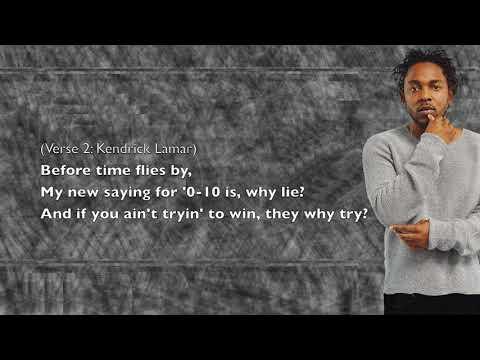 Kendrick Lamar - My Name Is - Lyrics