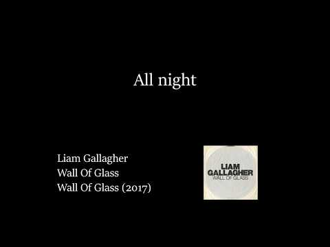 Liam Gallagher - Wall of Glass (Lyrics Video)