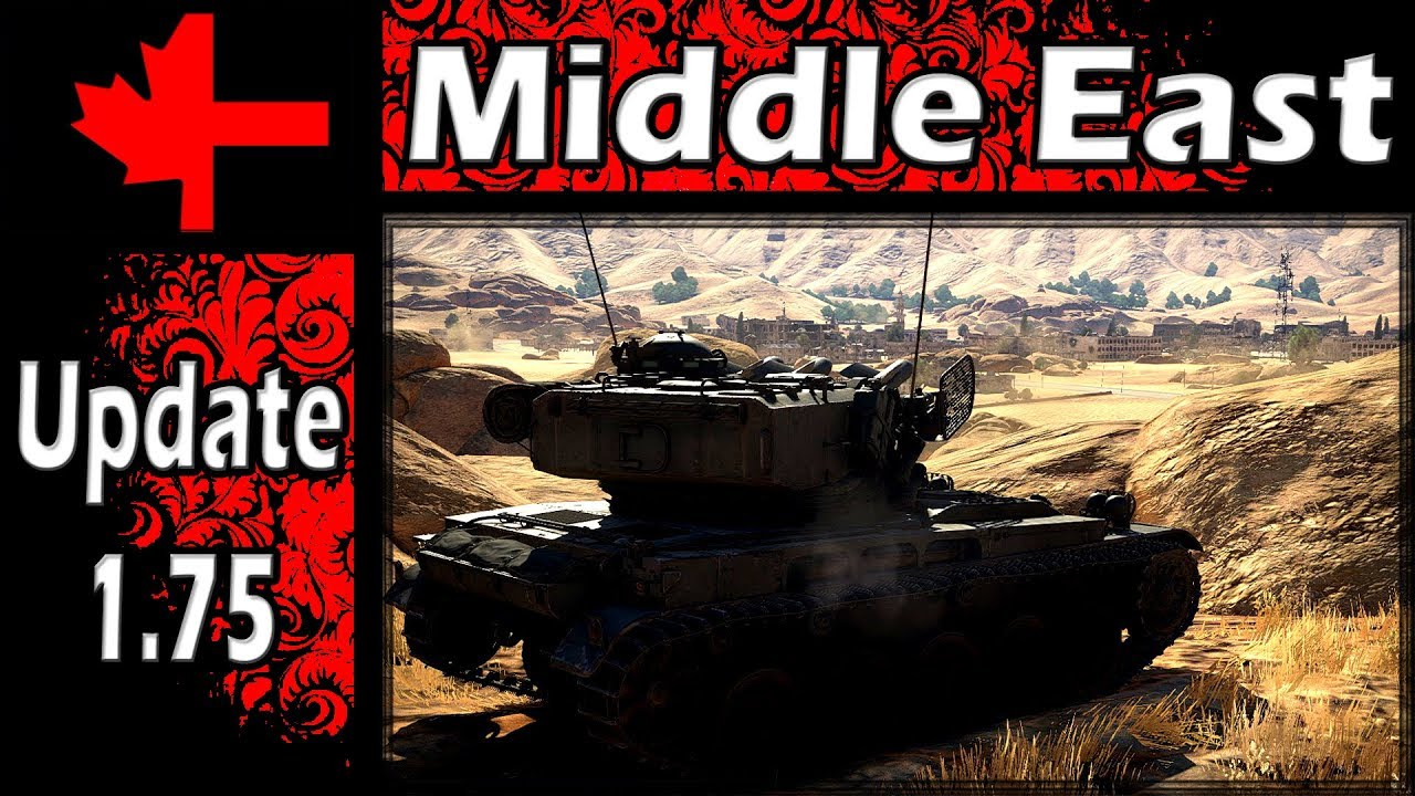 War Thunder - Update 1.75 - Map Analysis - Middle East - YouTube