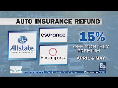 Auto Insurance Companies Send Out Refunds Due To Drop In Traffic