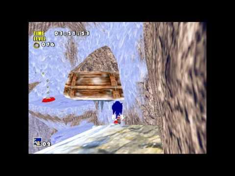 Sonic's Icecap - Sonic Adventure Autodemo