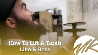 How To Lift A Torah Like A Boss - Comedy Skit