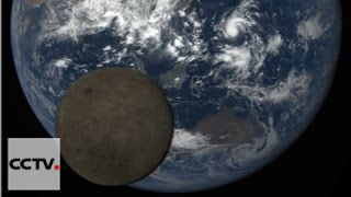 Nasa Captures Rare Images Of Moon's Photobomb Of Earth
