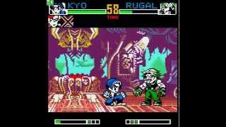 King of Fighters R-2 (Neo-Geo Pocket Color) Kyo - Ryo - Terry Longplay