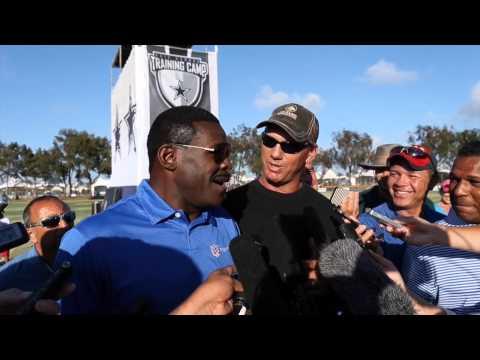 Dallas Cowboys Michael Irvin Interrupted By Jay Novacek