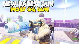 This is The New Rarest Gun In Fortnite! (Scammer Gets Scammed) Fortnite Save The World