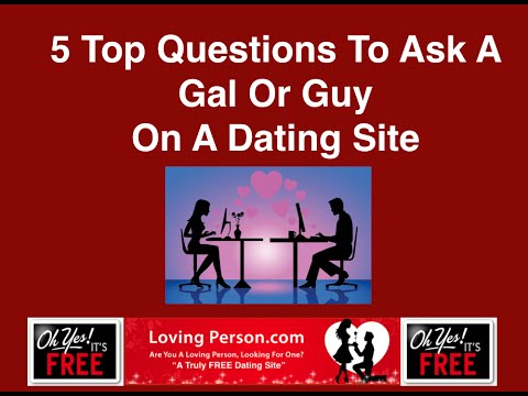 online dating sites questions to ask