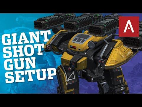 🔴 War Robots - Giant Shotgun Setup BEHEMOTH THUNDER MK2 Max   WR Live Stream Gameplay