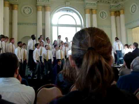 "Georgia Tech Men's Glee Club - ""Brown Eyed Lion"" - 2"