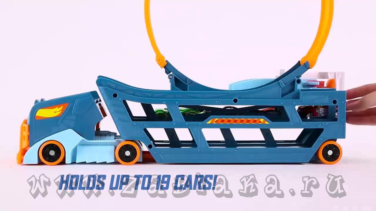 Объедините игрушку с другими треками hot wheels® (продаются отдельно), чтобы создать целый игровой мир. В набор уже входит одна машинка hot.