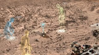 NASA and Microsoft Collaboration Will Allow Scientists to 'Walk on Mars'