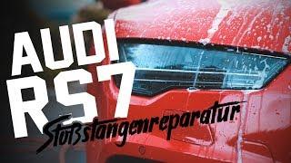 HOLYHALL | AUDI RS7 | STOßSTANGENREPARATUR