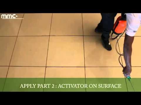 Anti Slip Application by Marble Magik Corporation