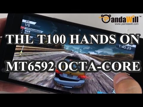 """ThL T100 Hands On: MT6592 OctaCore Chipset, 5"""" 1080P Gorilla Glass Screen, Dual 13MP Camera and More"""