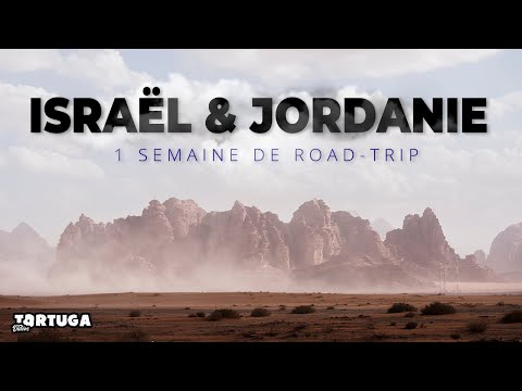 ISRAËL \u0026 JORDANIE 2020 - ITINÉRAIRE 1 SEMAINE