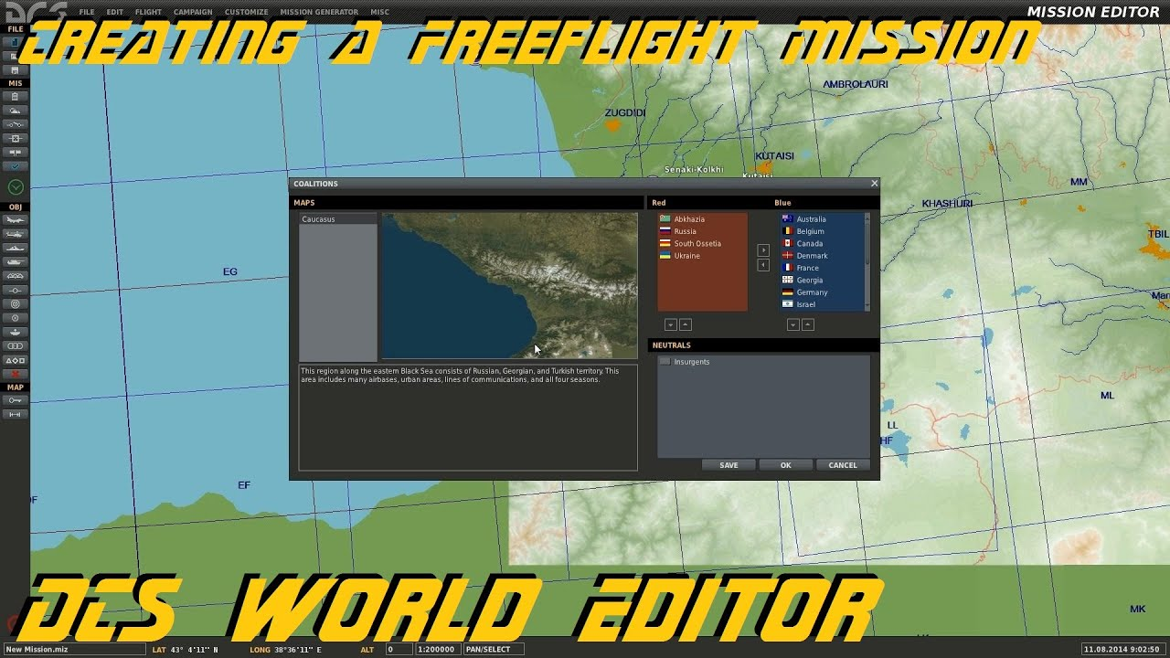 Dcs world editor creating a freeflight mission youtube gumiabroncs Gallery