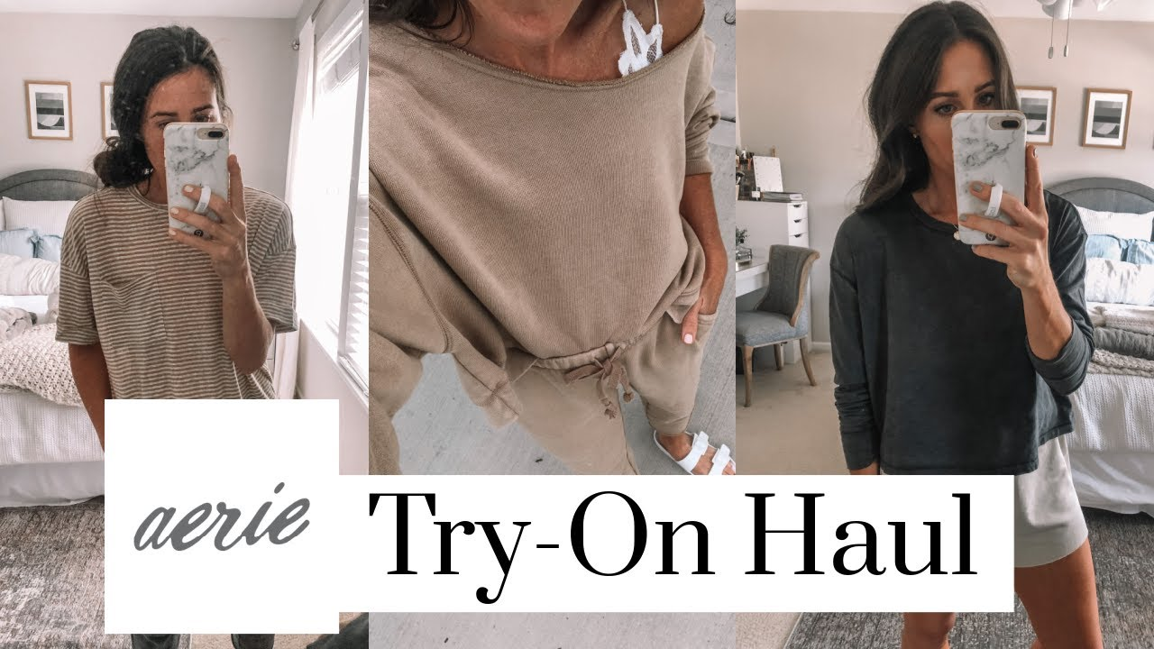 aerie try on august 2019 | By Lauren M
