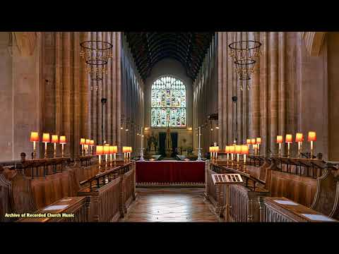 BBC Choral Evensong: St Edmundsbury Cathedral 1988 (Paul Trepte)