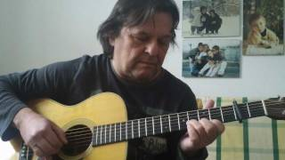 Something There/ St. Louis Tickle - Acoustic Fingerstyle Guitar Solo - Helmut Bickel