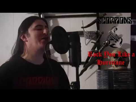"Scorpions "" Rock you like a Hurricane "" ( vocal cover )"