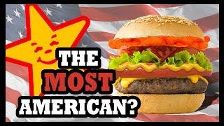 Carl's Jr. Flamin' Hot Cheetos Burger?!? - Food Feeder