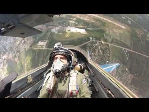 Supersonic  flight with the MIG-29 Fulcrum- top adventure ov