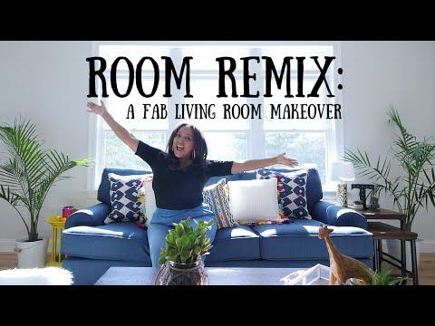 ROOM REMIX: A FAB LIVING ROOM MAKE OVER!