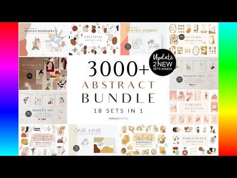 digital-illustrations:-abstract-bundle---3000+-illustrations